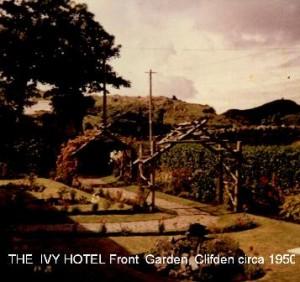 2THE_IVY_HOTEL_Clifden_Front_Garden_circa_1950